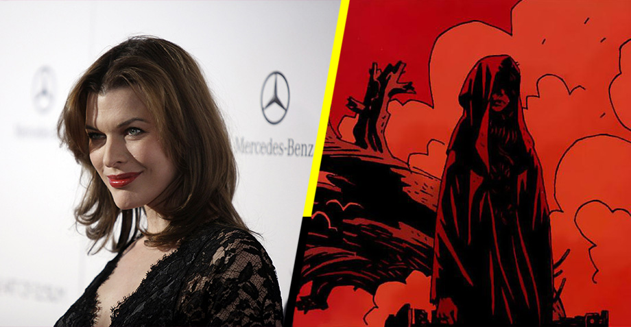 Milla Jovovich est&#22... Milla Jovovich Hellboy