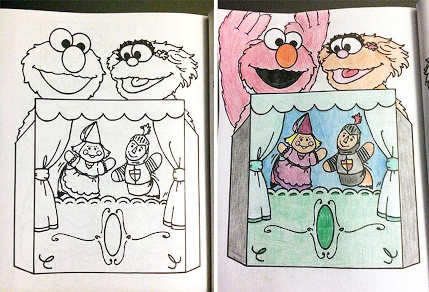 Por qué los adultos NO deben usar los libros para colorear de los niños?