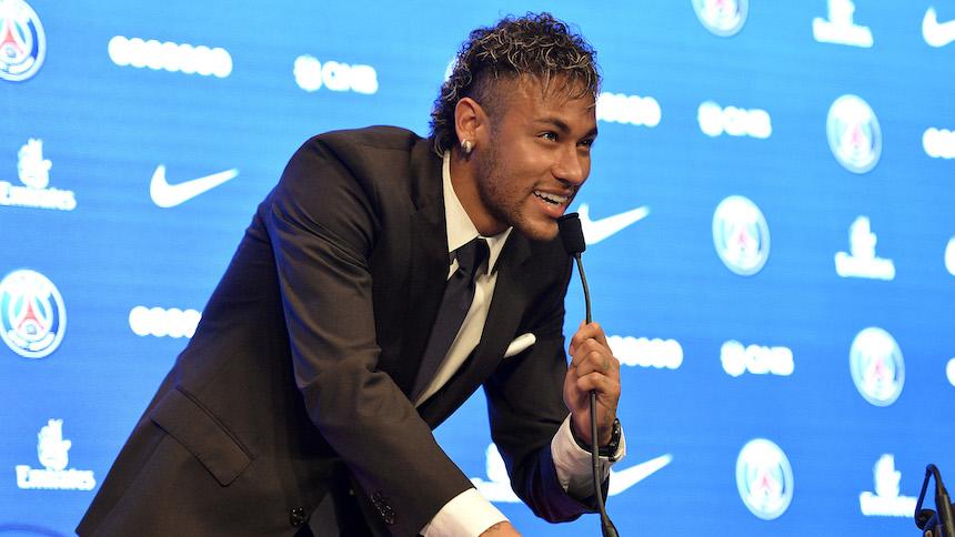 Neymar se da el lujo de contratar a un peleador de la UFC como su guardaespaldas