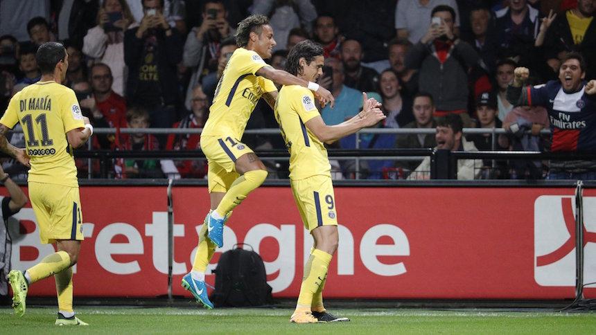 Gol y asistencia: Así estuvo el debut de Neymar con el PSG