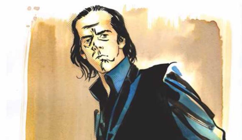 ¡La historia de Nick Cave será contada en este increíble cómic!