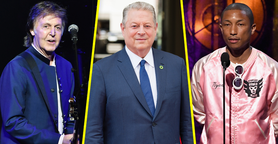 Paul McCartney y Pharrell aparecen en el nuevo documental de Al Gore