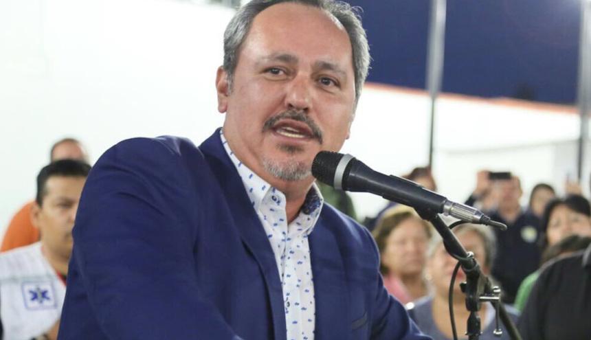 Rigoberto Salgado, delegado de Tláhuac