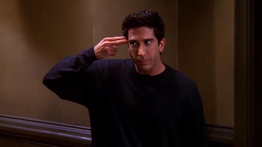 Ross Geller - Personaje de Friends