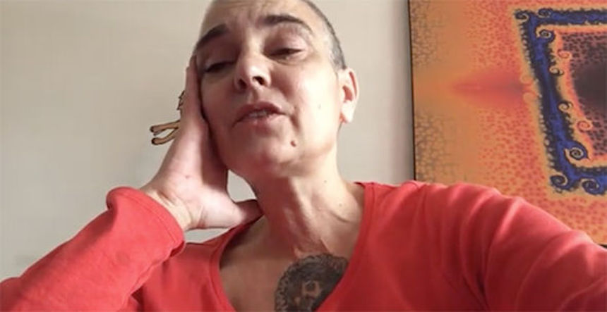 """Estoy totalmente destruida"": Sinéad O'Connor regresa al hospital"