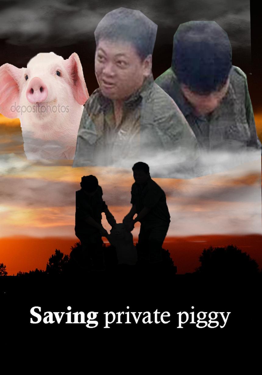 Cerdo de Photoshop - Private Ryan