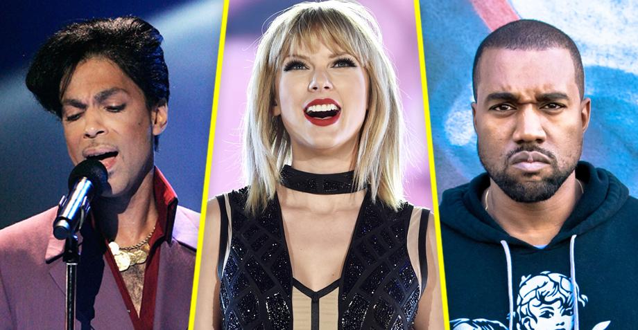 ¿Taylor Swift le copió a Prince y a Kanye para la portada de su nuevo álbum?