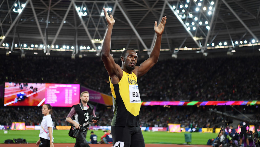 Usain Bolt dice adiós con bronce: Gatlin le quita el oro