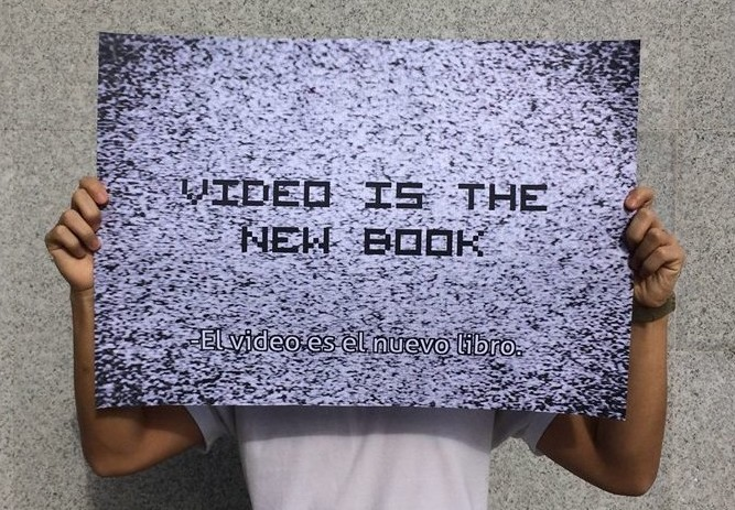 Video is the new book