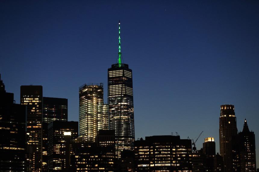 One World Trade Center - Vista nocturna