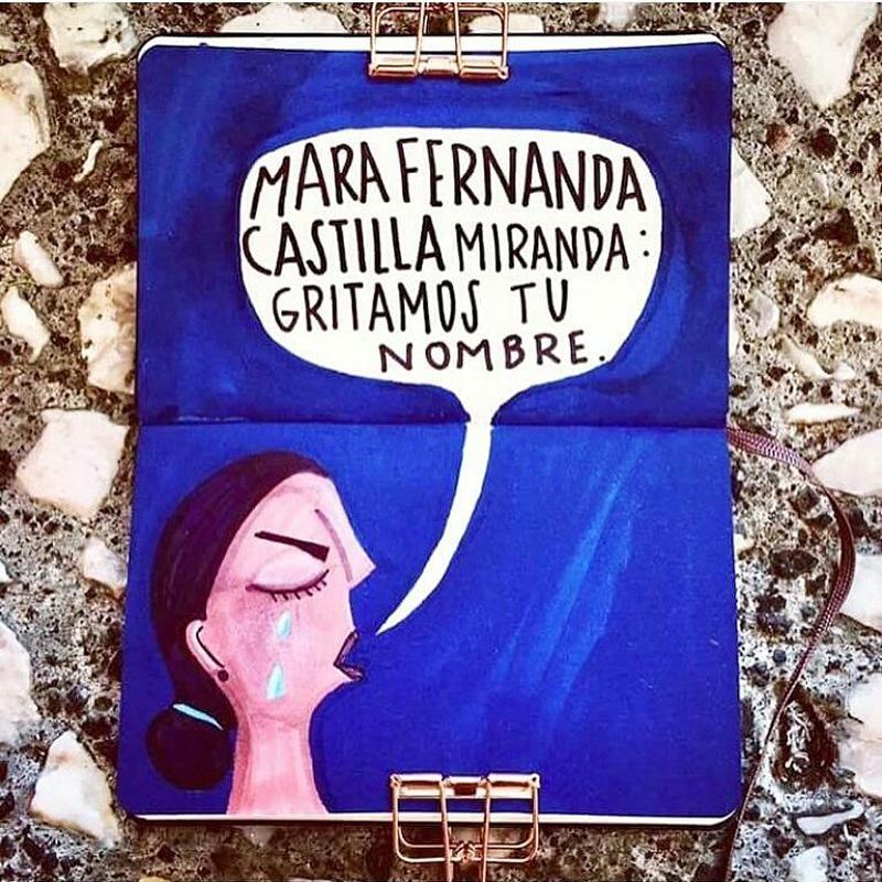 Feminicidio Mara Castilla