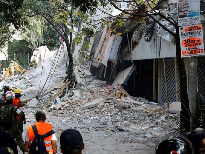 Amsterdam y Laredo después del sismo