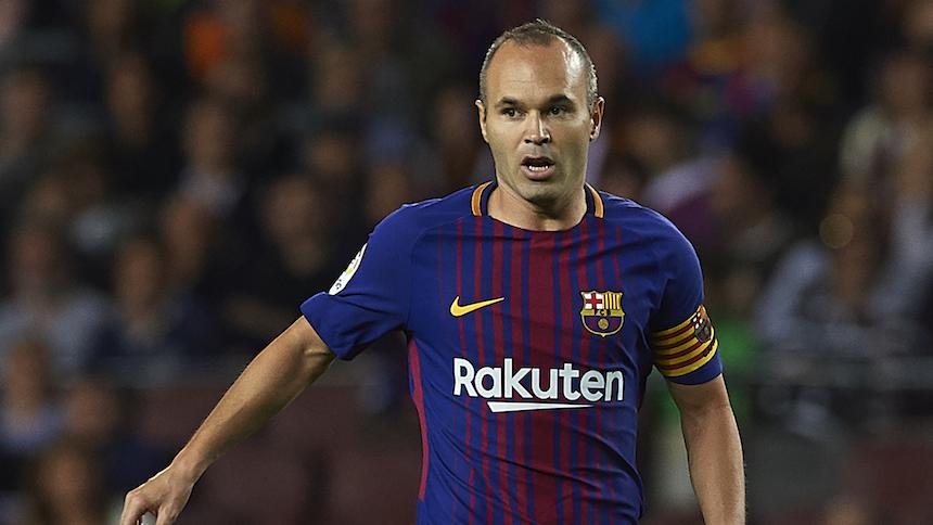 ¿El Barcelona está en problemas con la renovación de Andrés Iniesta?