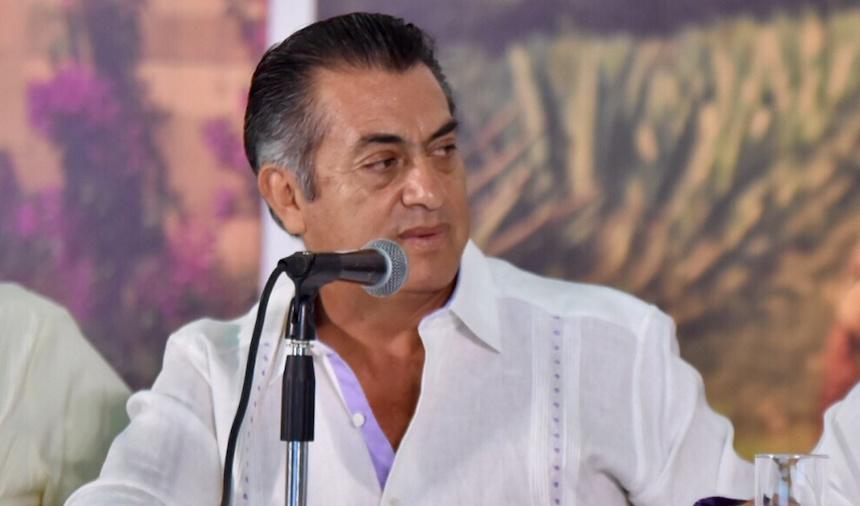 """Jaime Rodríguez Calderón """"El Bronco"""", gobernador de Nuevo León"""