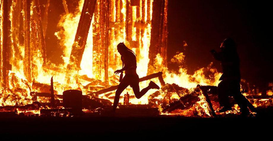 Un hombre muere quemado durante el Burning Man Festival