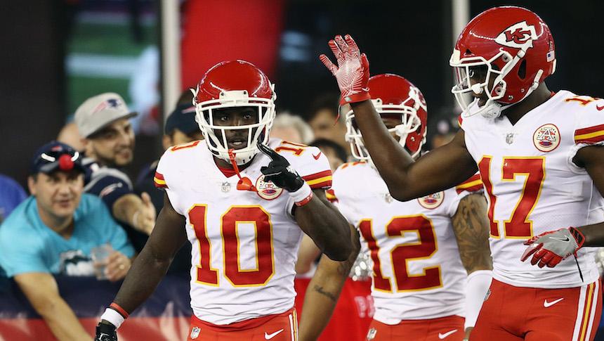 ¡Le pegaron al campeón! Los Chiefs derrotaron a los Patriots en el inicio de la NFL