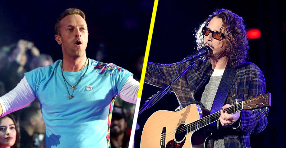"Coldplay recuerda a Chris Cornell con un cover a ""Black Hole Sun"""