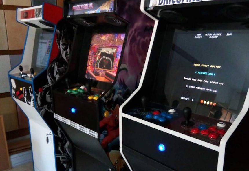 The Ghost Arcade - Exposición de maquinitas en la Ciudad de México