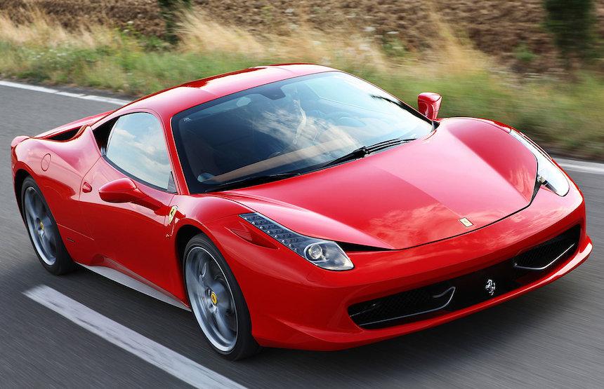 Ferrari como el de Raúl Cervantes Andrade