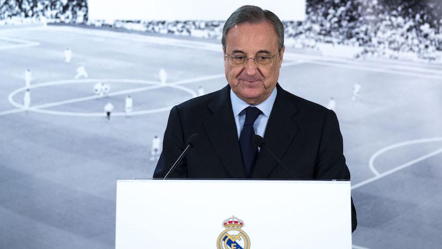 Florentino Pérez explicó por qué el Real Madrid no fichó a Kylian Mbappé