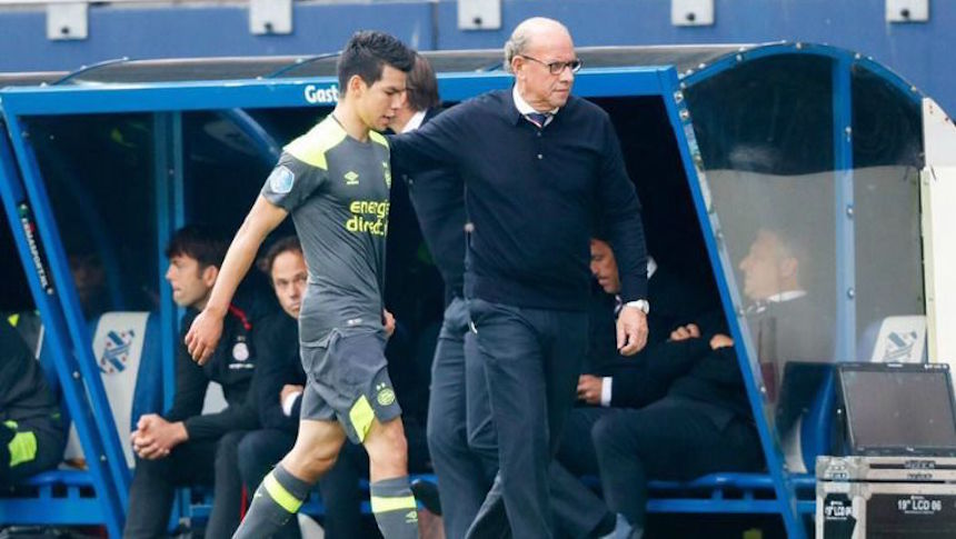 ¿Fue justa la expulsión del Chucky Lozano con el PSV?