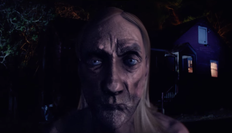 Un terrorífico Iggy Pop de CGI en el nuevo video de Oneohtrix Point Never