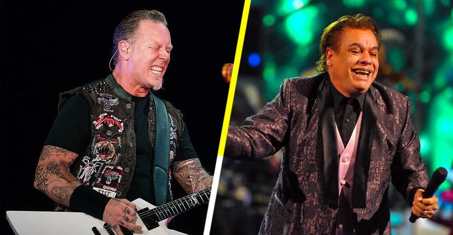 """Y porque usted lo pidió: ¡El """"juangabrielazo"""" de James Hetfield!"""
