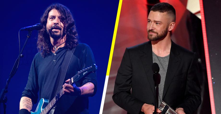 Esperen, ¿qué? Justin Timberlake estará en el nuevo disco de Foo Fighters