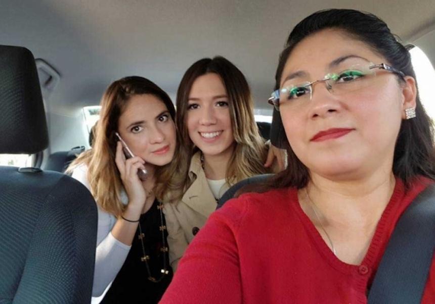 Laudrive, app de servicio de transporte de mujeres para mujeres