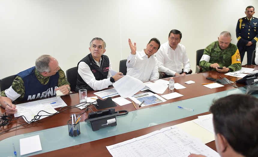 Anuncian plan de reconstrucción para la CDMX tras el sismo