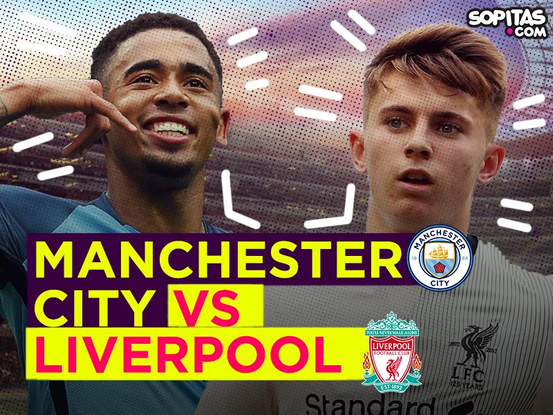 En vivo: Partidazo tempranero con el Manchester City vs Liverpool