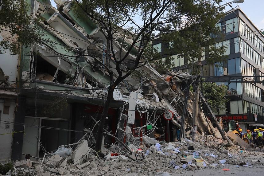 Medellín y San Luis Potosí después del sismo