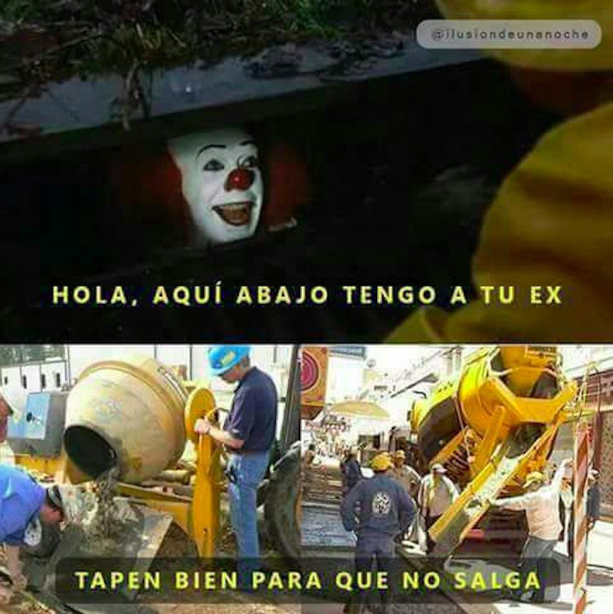Memes de IT - Cemento
