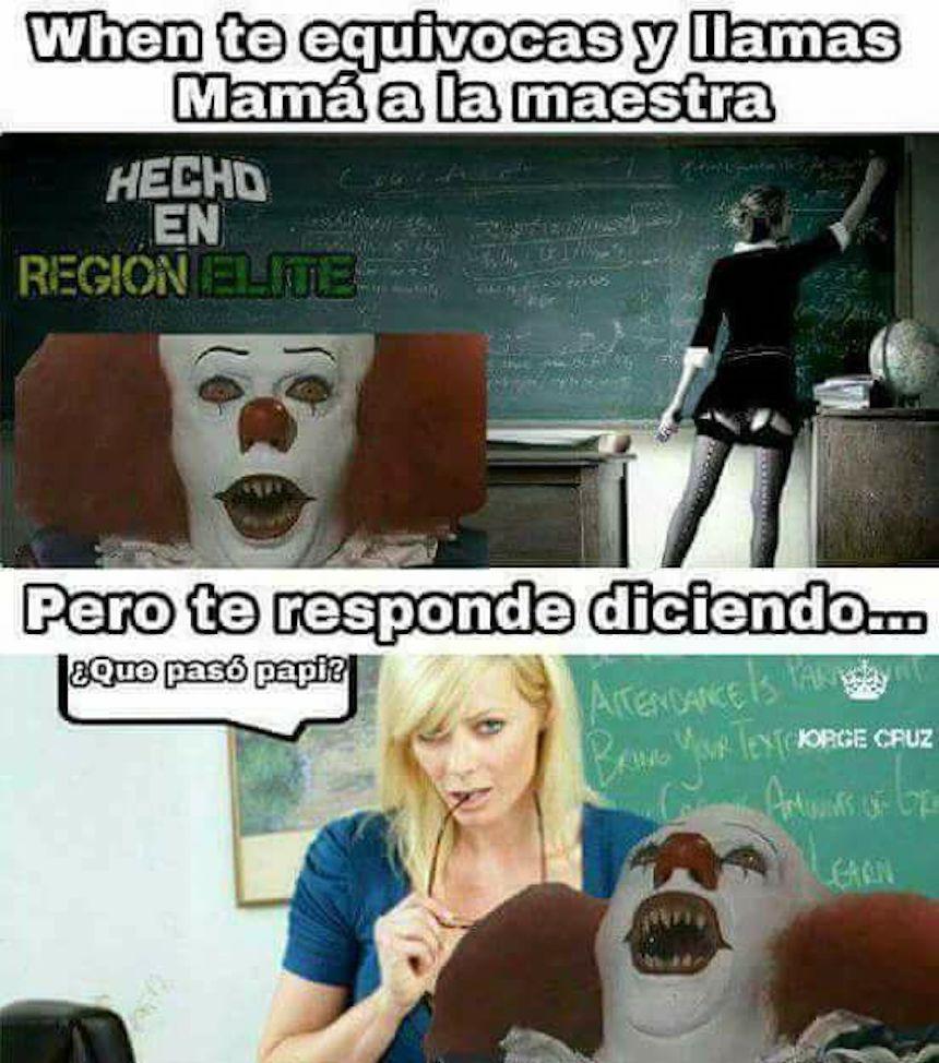 Memes de IT - Maestra