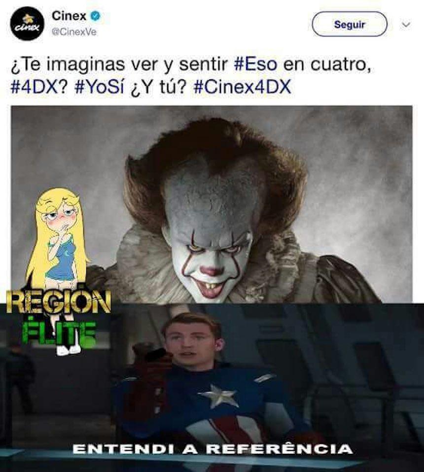 Memes de IT - Albur de cine
