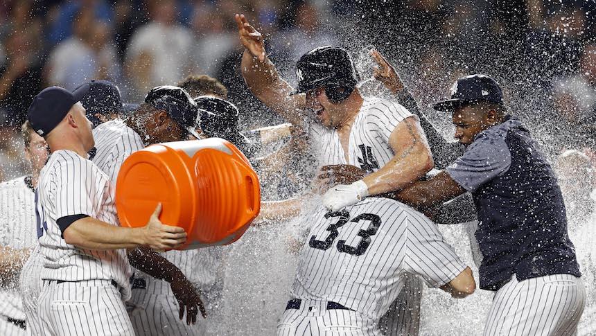 Cómo es que un meme se convirtió en la celebración de los NY Yankees