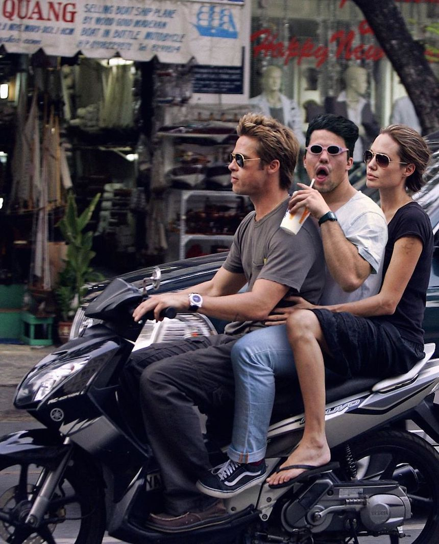 Robert Van impe - Brad Pitt y Angelina Jolie