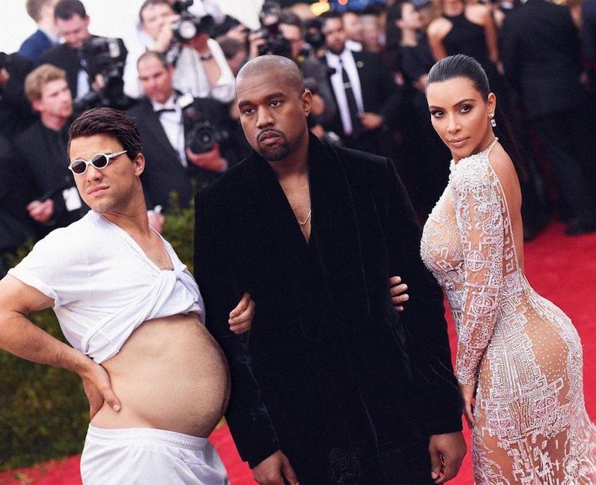 Robert Van impe - Kanye West y Kim Kardashian