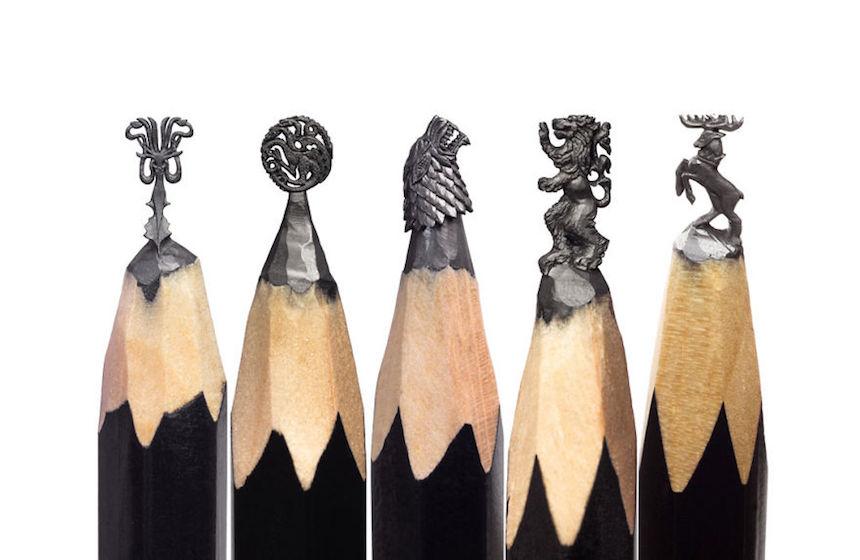 Esculturas de Game of Thrones - Símbolos de Westeros