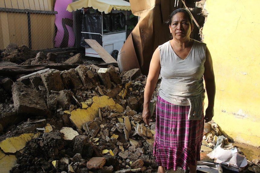 Sismo en Chiapa de Corzo, Chiapas