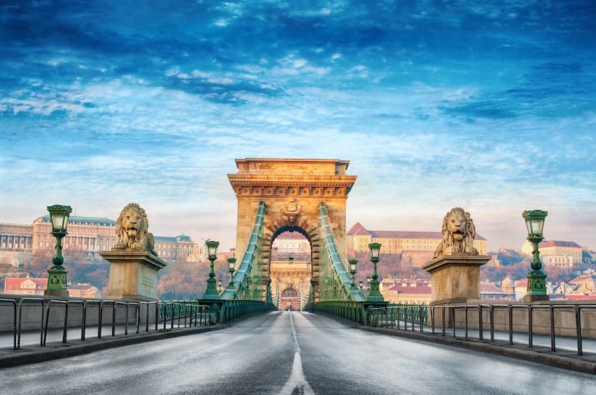 Los puentes más bellos - Puente de las Cadenas
