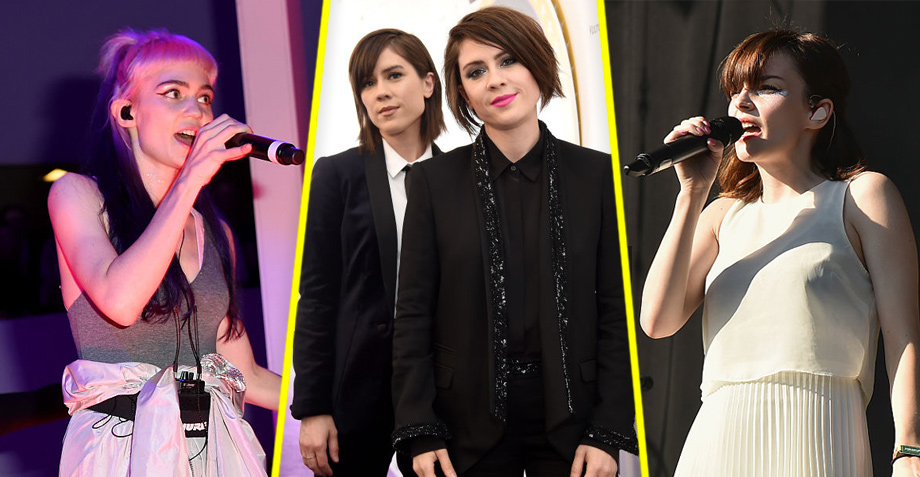 CHVRCHES, Grimes y más se unen para coverear a Tegan and Sara