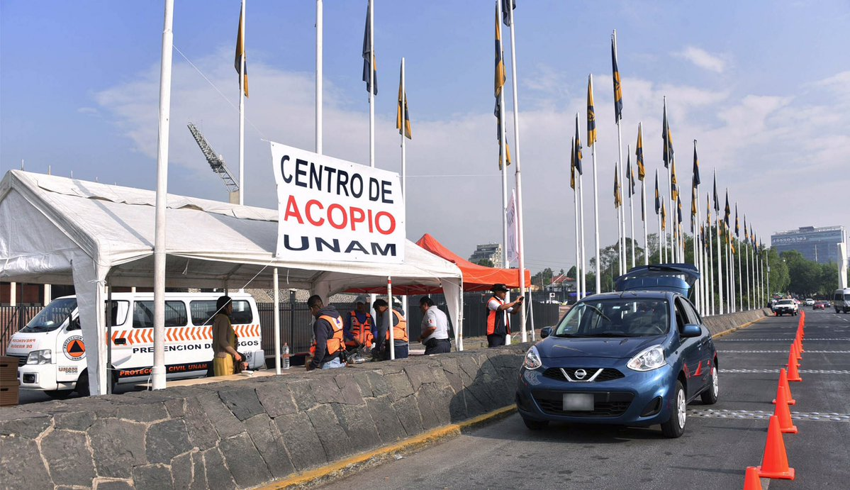 centro de acopio UNAM