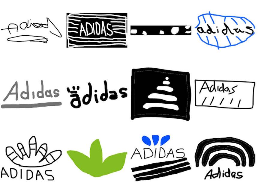 Adidas - Dibujos de los logos