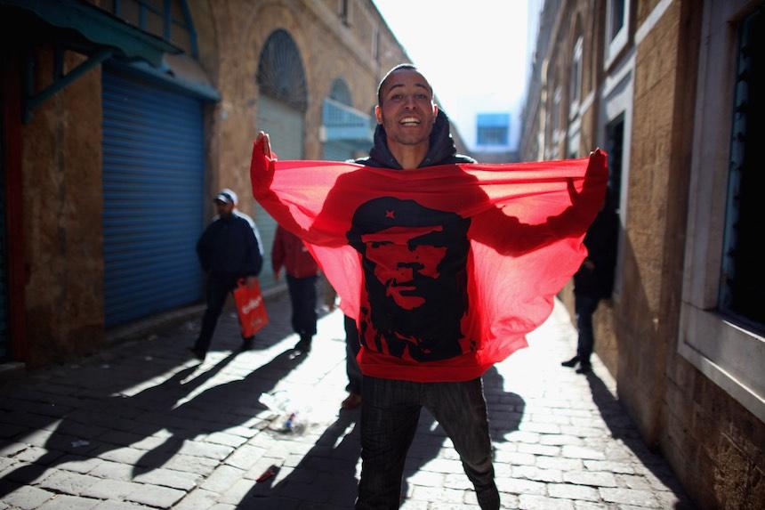 Bandera del Che Guevara