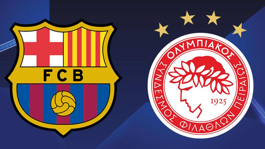 Sigue el Barcelona contra Olympiacos y todos los resultados en la Champions League