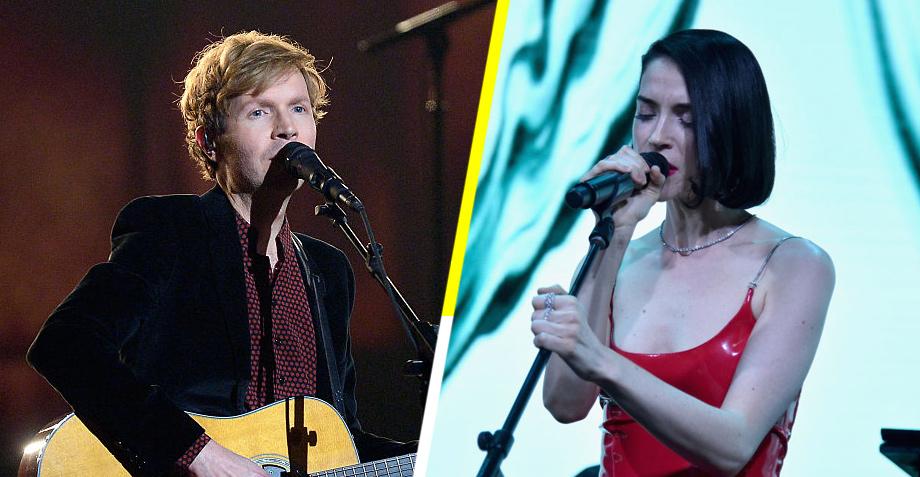 Mira a Beck y St. Vincent tocar sus nuevas canciones en Jools Holland