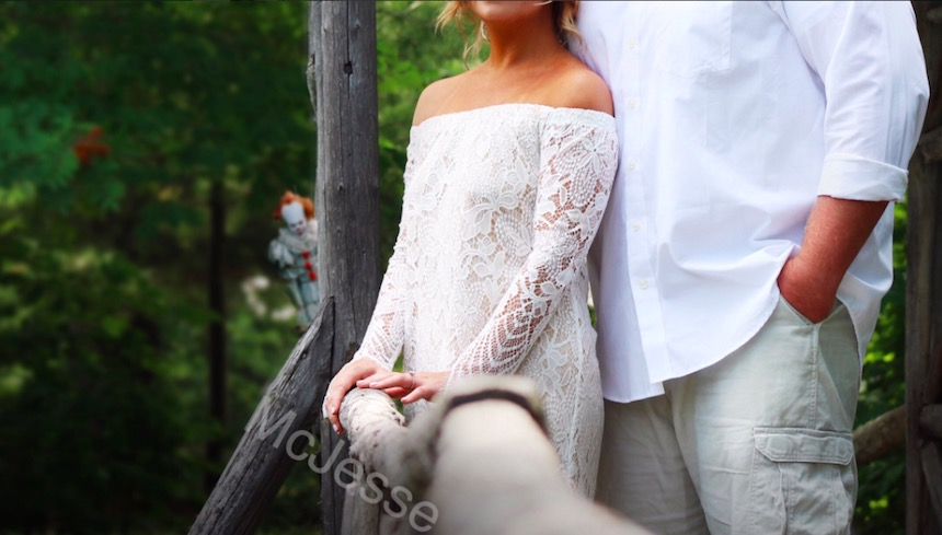 Pennywise en un casamiento