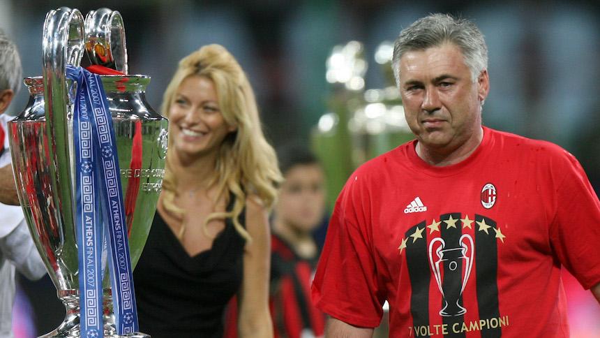 Carlo Ancelotti ya habló sobre un posible regreso al AC Milan