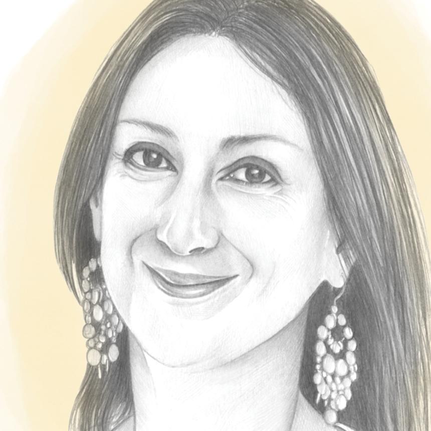 Daphne Caruana Galizia, periodista de Malta asesinada en un atentado